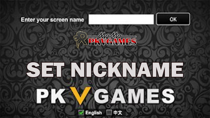 Atasi Kendala Enter Your Screen Name atau Set Nickname Pkv Games