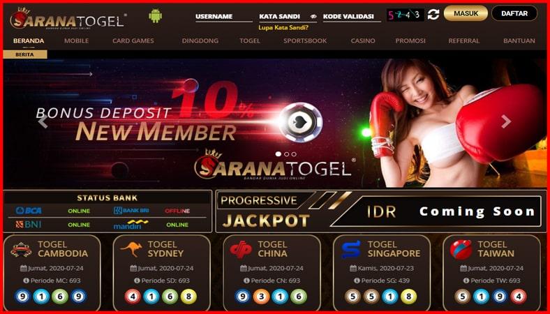 SaranaTogel Situs Judi Online Terpercaya